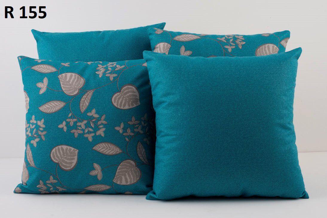 Almofadas Decorativas Quarteto Kit com 4- Azul