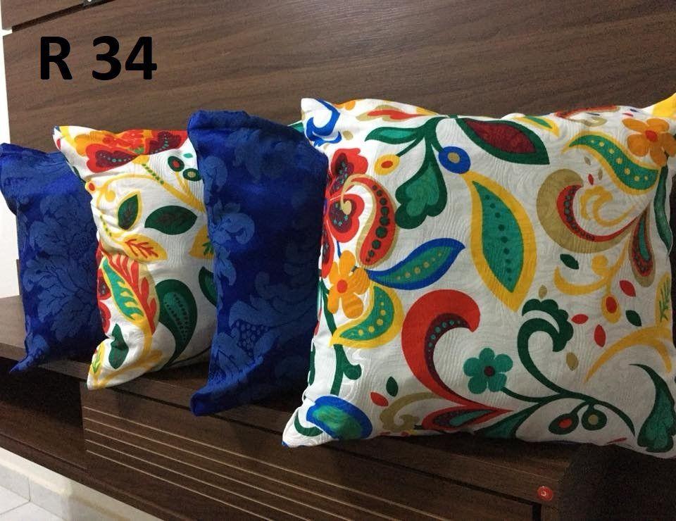 Almofadas Decorativas Quarteto kit com 4- Cor 34