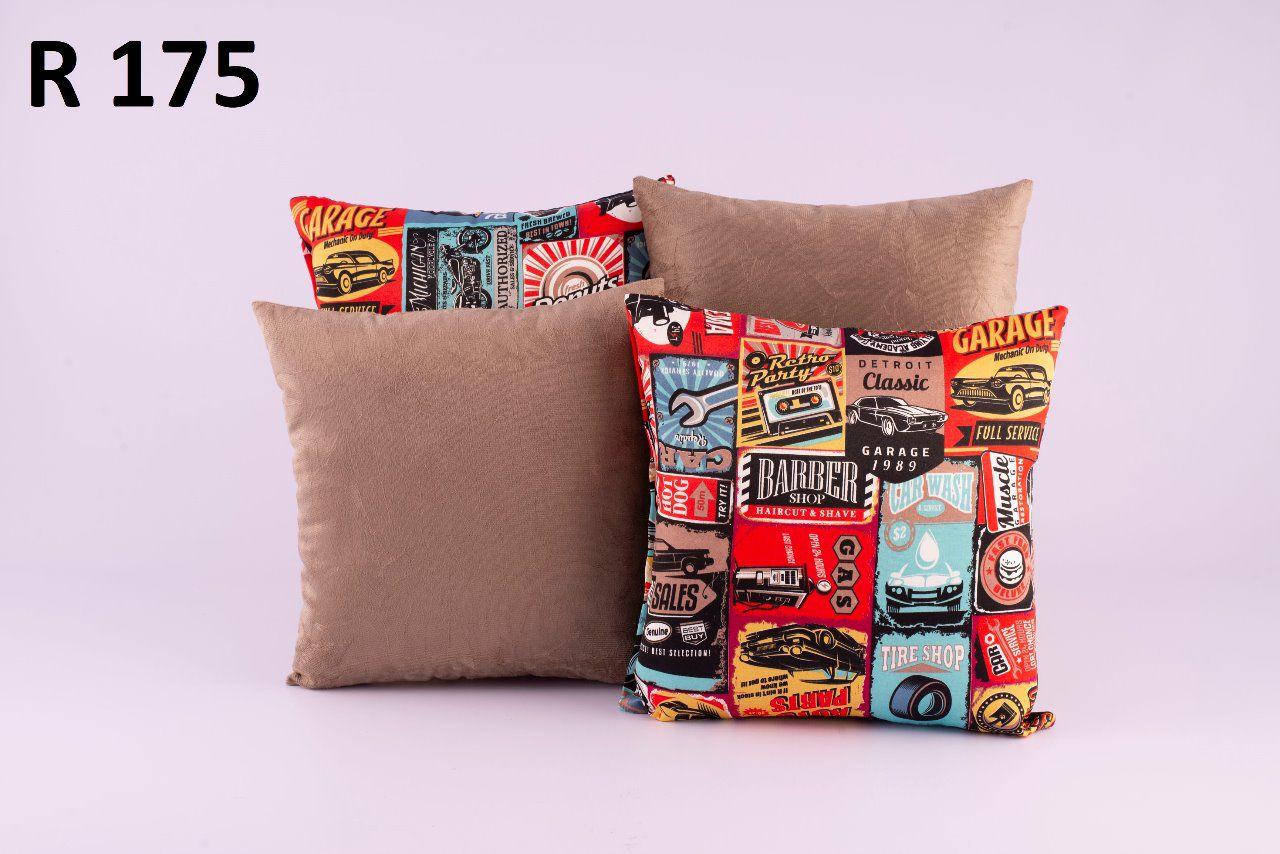 Almofadas Decorativas Quarteto Kit com 4- R175
