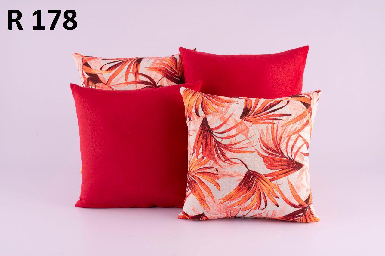 Almofadas Decorativas Quarteto Kit com 4- R178