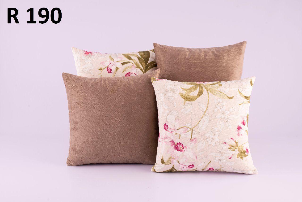 Almofadas Decorativas Quarteto Kit com 4- R190