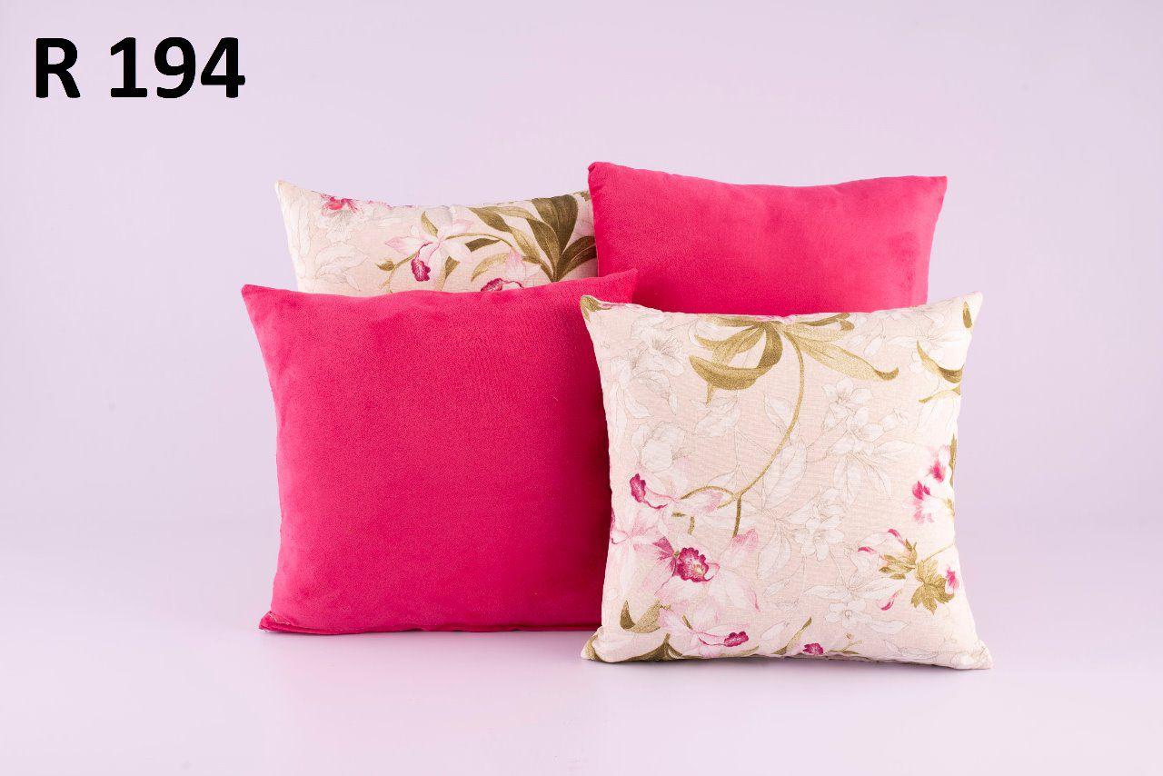 Almofadas Decorativas Quarteto Kit com 4- R194
