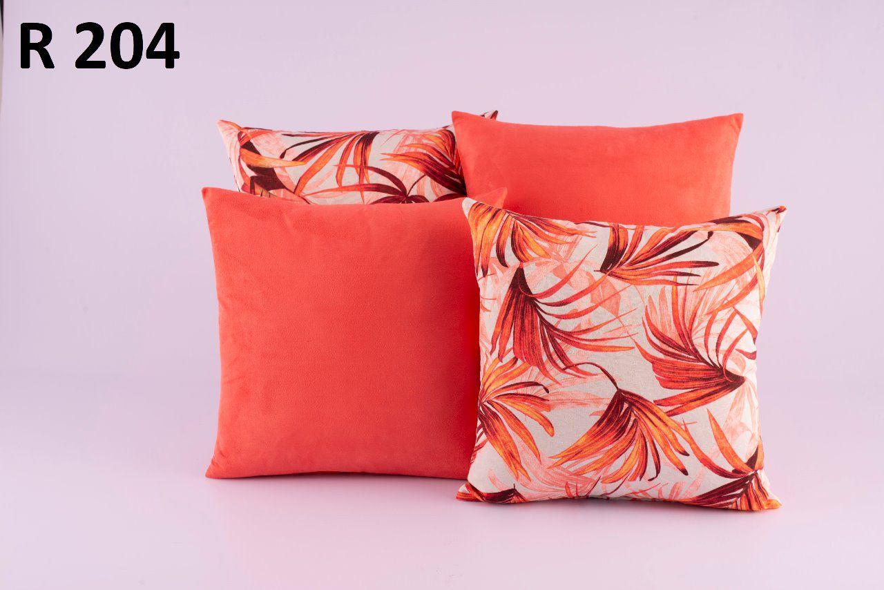 Almofadas Decorativas Quarteto Kit com 4- R204