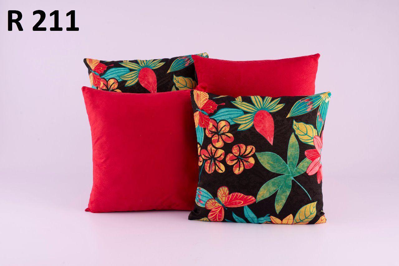 Almofadas Decorativas Quarteto Kit com 4- R211