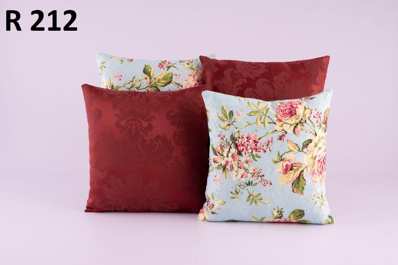 Almofadas Decorativas Quarteto Kit com 4- R212