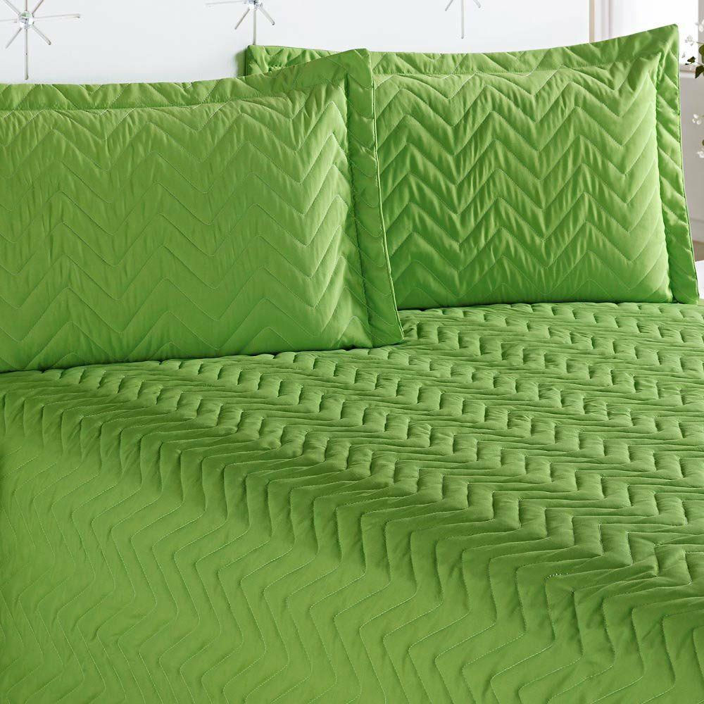 Cobre Leito Casal Queen Clean 04 Peças com Lençol de Baixo- Verde