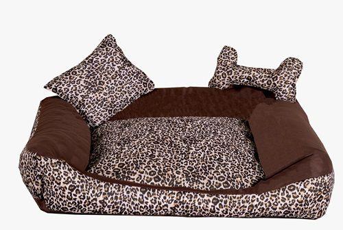 Cama para Cães e Gatos Oncinha- Tam P