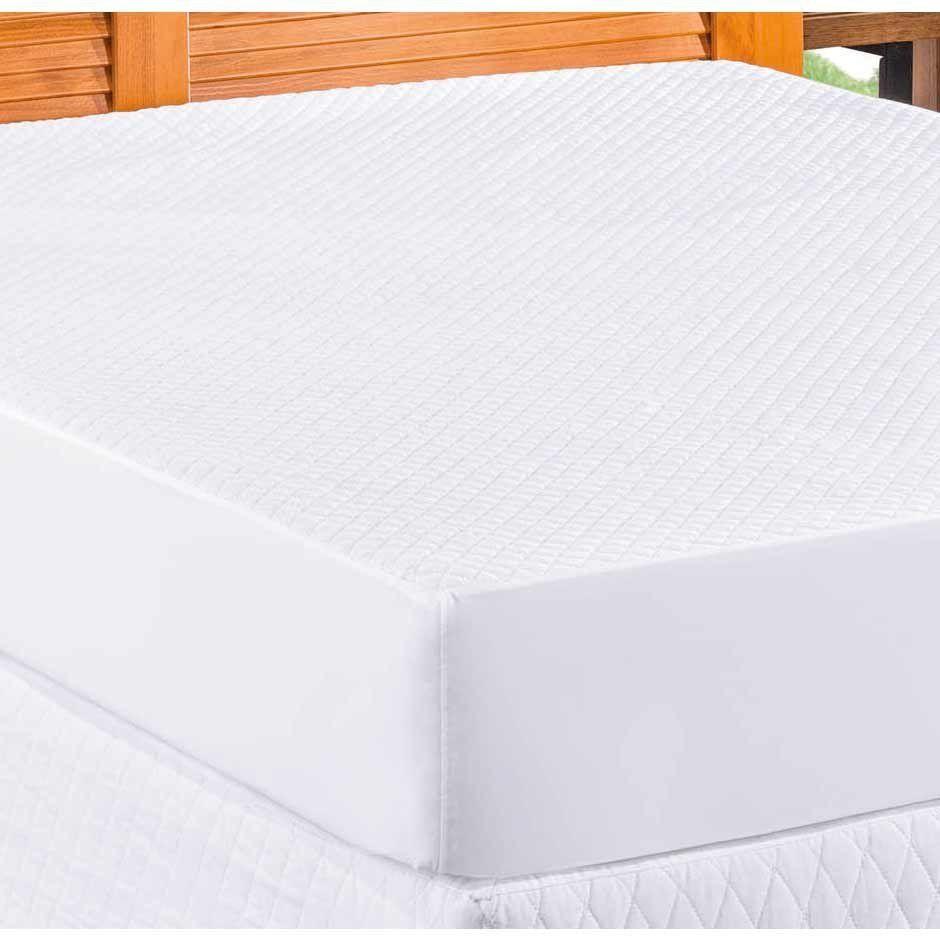 Protetor Impermeável para Colchão Solteiro 01 Peça Matelado Ultrassônico - Branco