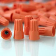 conector de torção laranja 150 pçs