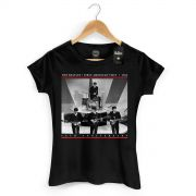 Camiseta Feminina The Beatles First American Visit 1964