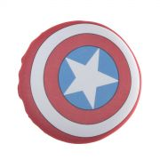 Almofada de Veludo MARVEL Capitão América Escudo