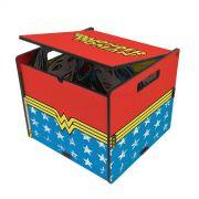 Baú de Mesa Wonder Woman
