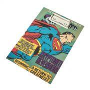 Bloco de anotação com prancheta Superman Flying