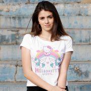 Blusa Feminina Hello Kitty Rainbow