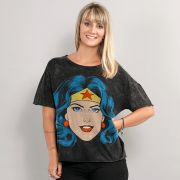 Blusa Feminina Wonder Woman Pop Culture