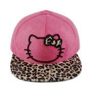 Boné Strapback Hello Kitty Leopard
