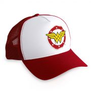 Boné Trucker Wonder Woman Logo
