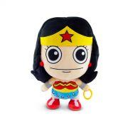 Boneco de Pelúcia Liga da Justiça Super Fun Wonder Woman