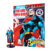 Boneco Miniatura Superman + Revista