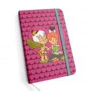 Caderneta de Anotações HB Flintstones Baby Pedrita e Bam-Bam