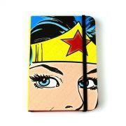 Caderneta de Anotações Wonder Woman Face