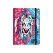 Caderneta Esquadrão Suicida Harley Quinn Puddin