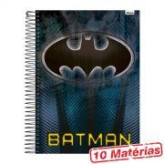 Caderno 10 Matérias Batman Símbolo