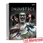 Caderno 10 Matérias Injustice Gods Among Us
