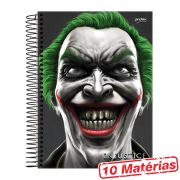 Caderno 10 Matérias Injustice The Joker