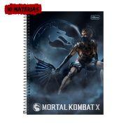 Caderno Mortal Kombat X Kitana 10 Matérias
