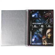 Caderno Mortal Kombat X Sub-Zero 10 Matérias