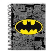 Caderno 1 Matéria Batman Logo