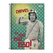 Caderno Chaves Isso Isso Isso Vintage 1 Matéria