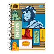 Caderno Chaves Zaz Zaz Zaz Vintage 1 Matéria