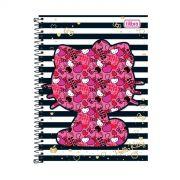 Caderno Hello Kitty Fashion Stripes 1 Matéria
