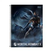 Caderno Mortal Kombat X Kitana 1 Mat�ria
