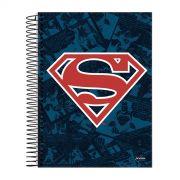 Caderno 1 Matéria Superman Logo