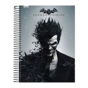 Caderno 1 Matéria The Joker Half Black Face