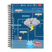 Caderno Turma da Mônica Pixel Cascão 1 Matéria
