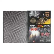 Caderno AC/DC Back in Black 10 Matérias