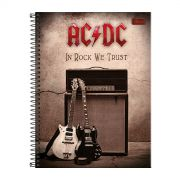 Caderno AC/DC In Rock We Trust 1 Matéria