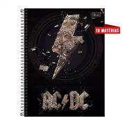 Caderno AC/DC Logo Ground 10 Matérias