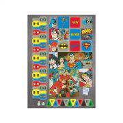 Caderno Batman Logo Quadrinhos 10 Matérias