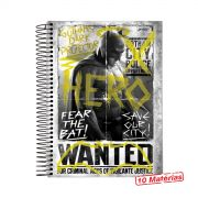Caderno Batman VS Superman Hero Wanted 10 Matérias