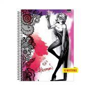 Caderno Catwoman Diamond 10 Matérias
