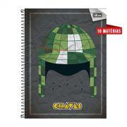 Caderno Chapéu do Chaves 10 Matérias