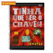 Caderno Chaves Foi Sem Querer Querendo 10 Matérias