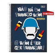 Caderno Chaves Ruim é Ter Que Trabalhar! 10 Matérias