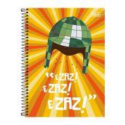 Caderno Chaves Zaz Zaz Zaz ícone 10 Matérias