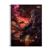 Caderno Diablo Barbaro 1 Matéria